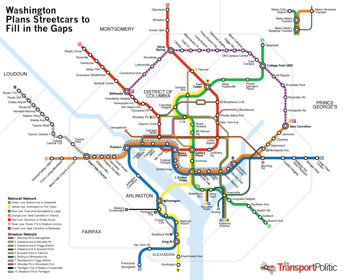 Washington Dc Transit Map Washington Dc Map - Washington dc map by zip code