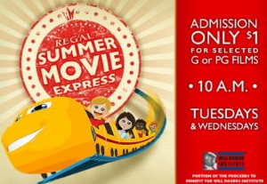 Summer Movie Express - Admission $1 @ Participating Regal Theatres (see list below)