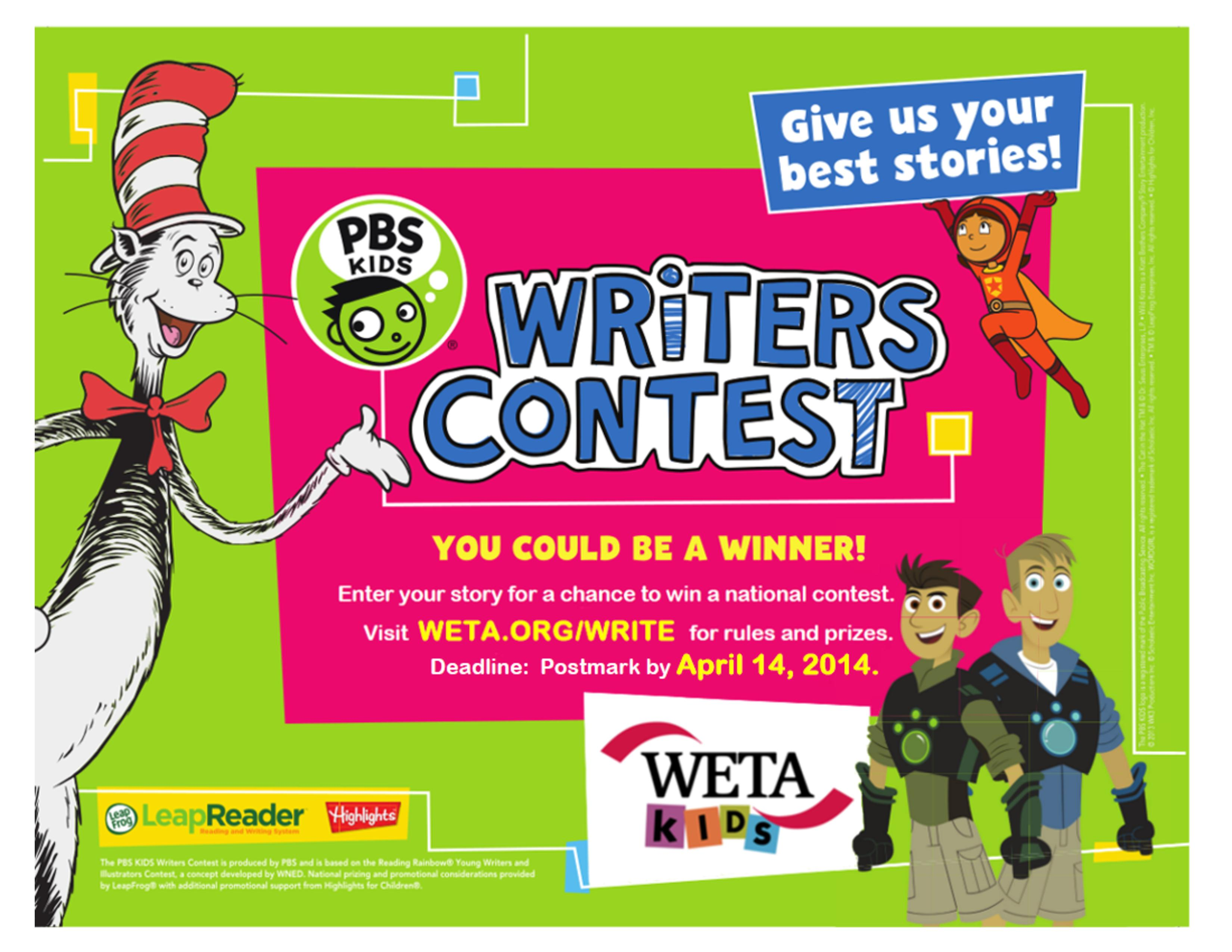 writing contests kids