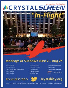 "Crystal Screen: ""In Flight""- Showing: Iron Eagle @ 1851 S. BELL STREET 