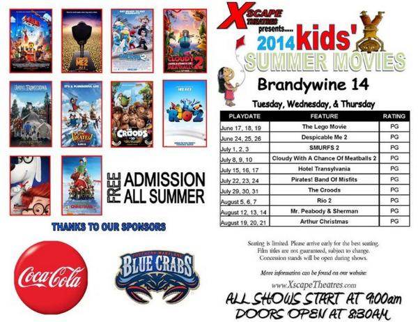 Xscape Theatres Free Summer Movies 2014- The Croods (PG) @ Xscape 14 Theatres | Brandywine | Maryland | United States