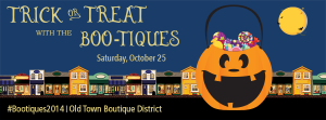 Trick or Treat with the Boo-Tiques @ Old Town Alexandria (various locations)