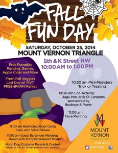 Fall Fun Day  @ Mount Vernon Triangle | Washington | District of Columbia | United States