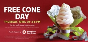 Carvel Free Cone Day @ Participating Carvel Locations