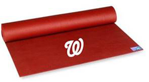 Washington Nationals Yoga Mat Dcthriftymomdcthriftymom