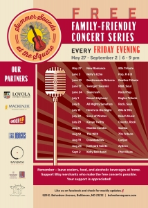 Belvedere Square Summer Sounds Concert Series @ Belvedere Square | Baltimore | Maryland | United States